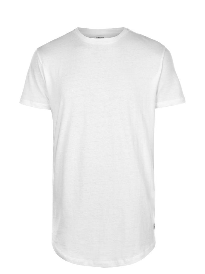 BASIC LONG FIT T-SHIRT CLOUD DANCER