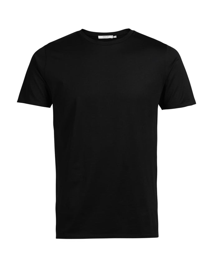 JJPRMERCERIZED T-SHIRT BLACK