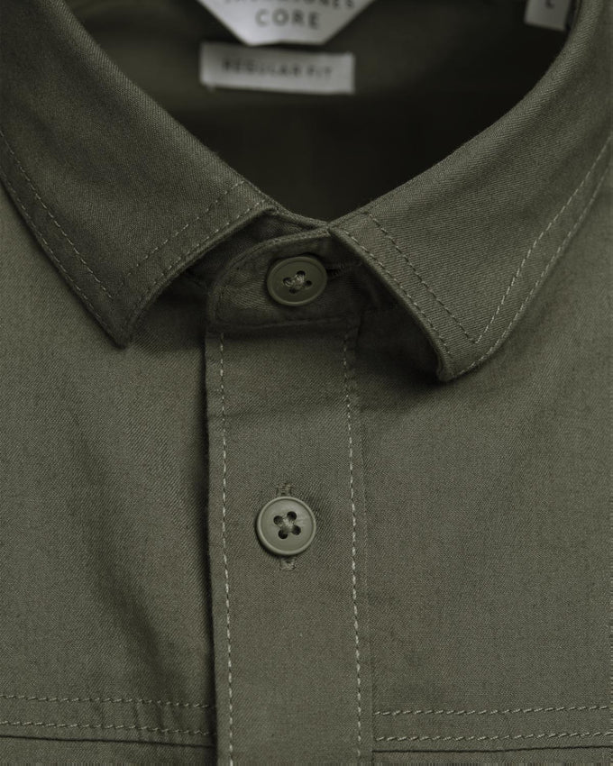CHEMISE CORE STYLE UTILITAIRE OLIVE