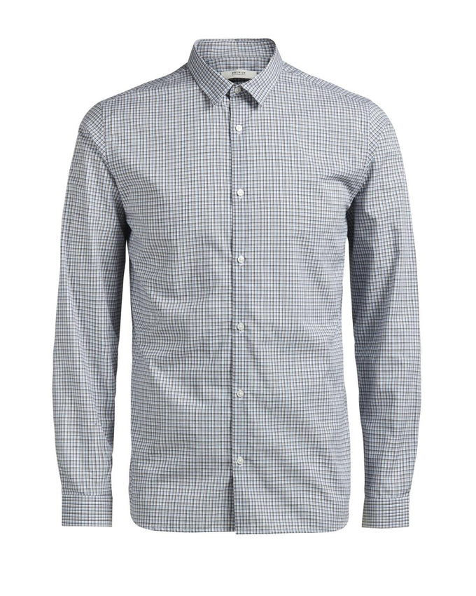 JJPRTULSA CHECKERED SHIRT Kentucky Blue
