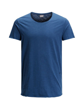 SCOOP NECK CASUAL T-SHIRT