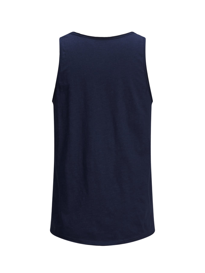 TONE-ON-TONE TANK TOP TOTAL ECLIPSE