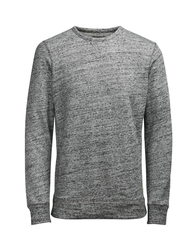 JJVCLUIS SWEATSHIRT Light Grey Melange