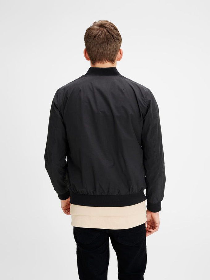 JJORPACIFIC BOMBER JACKET Black