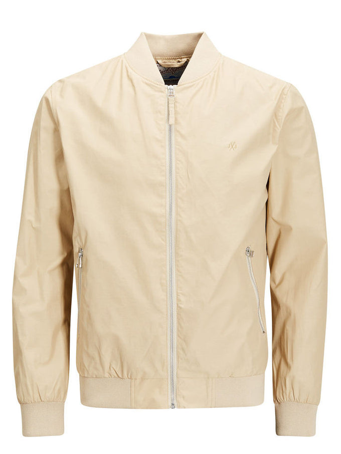 JJORPACIFIC BOMBER JACKET Safari