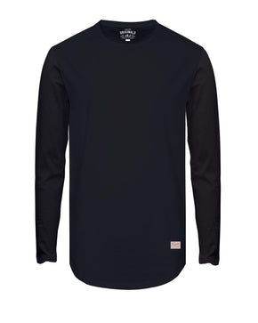 BASIC LONG FIT LONG SLEEVE T-SHIRT