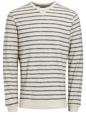 STRIPED LIGHT SWEATSHIRT