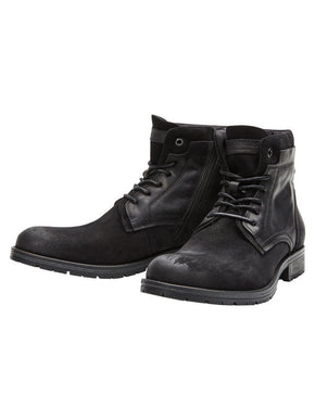 JJFWHANIBAL MIX LEATHER BOOTS