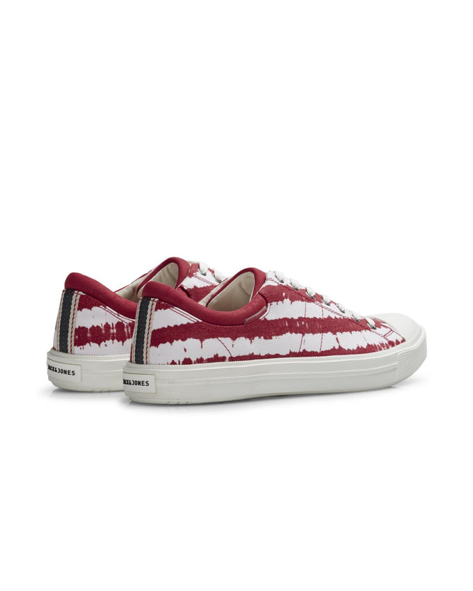 LIGHTWEIGHT CANVAS TIE-DYE SNEAKERS BARBADOS CHERRY