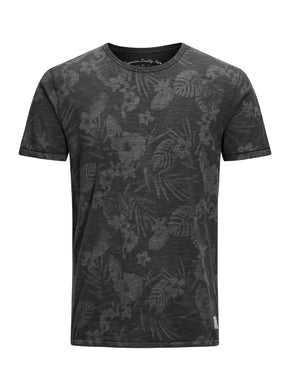 TROPICAL PRINT T-SHIRT