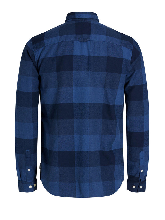 LONG SLEEVE CHECKERED SHIRT TOTAL ECLIPSE