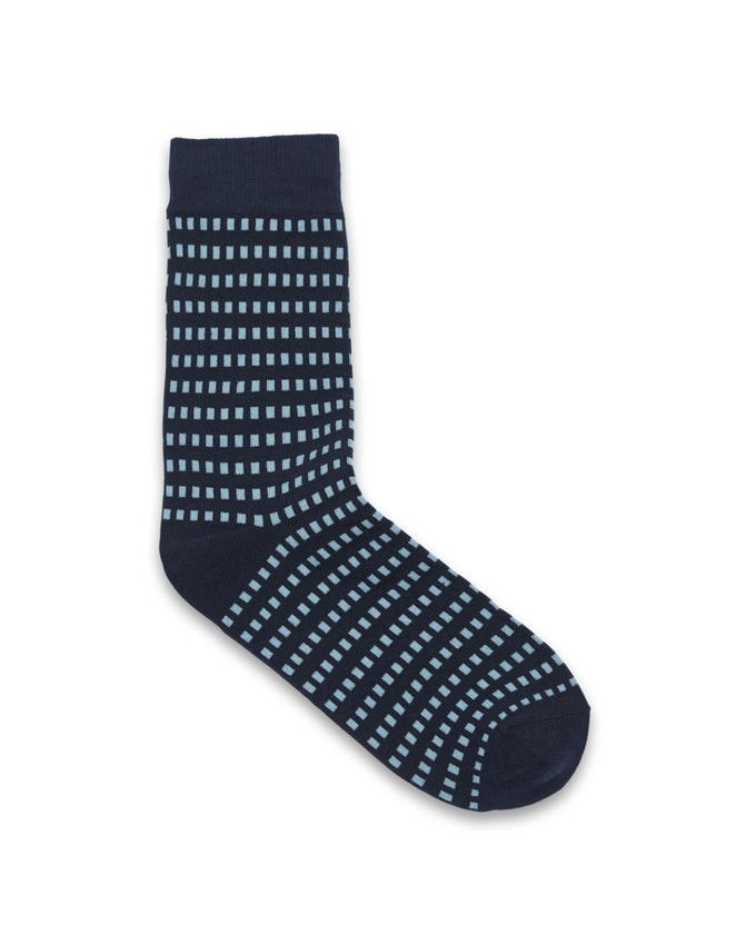 DOTTED SOCKS LAPIS BLUE