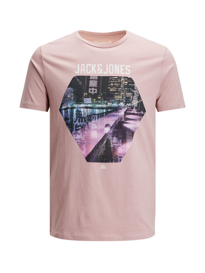 T-SHIRT JJORCARTOON MAUVE