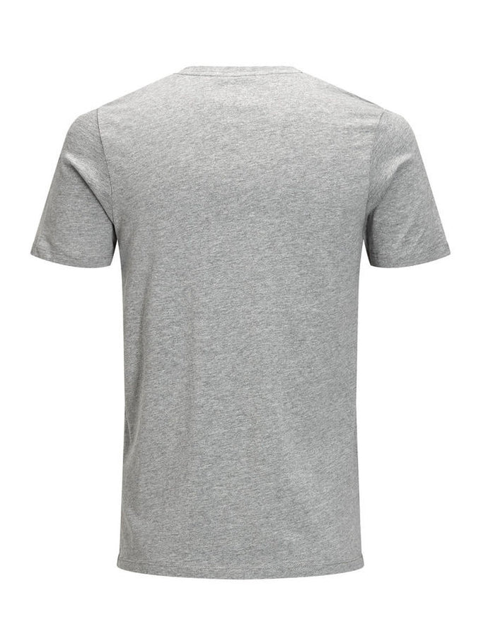 JJORCARTOON T-SHIRT LIGHT GREY MELANGE