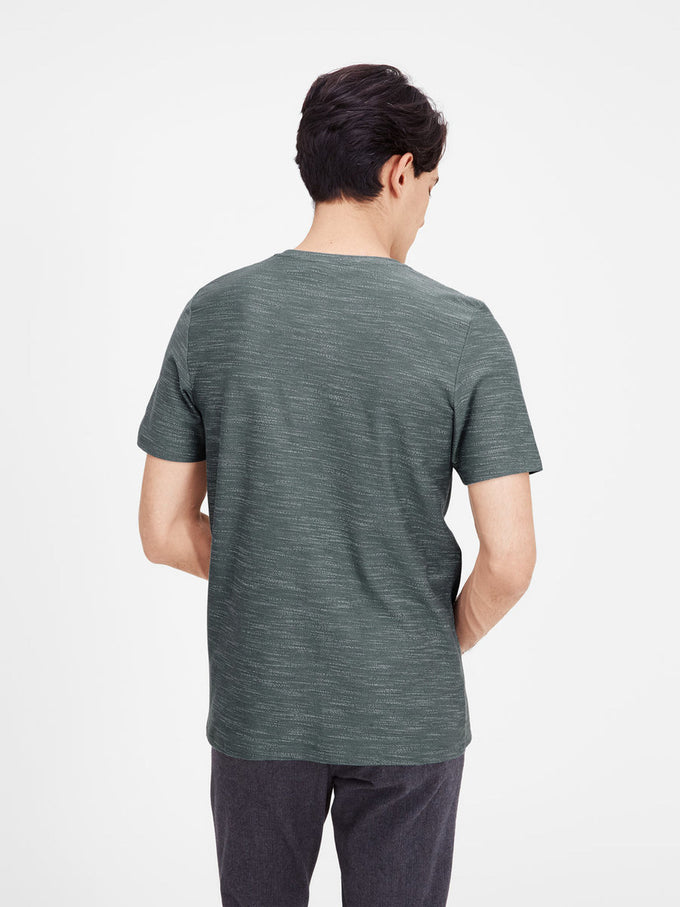 JJPRNORTH T-SHIRT Balsam Green