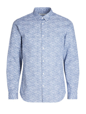 LONG SLEEVE PRINTED DRESS SHIRT
