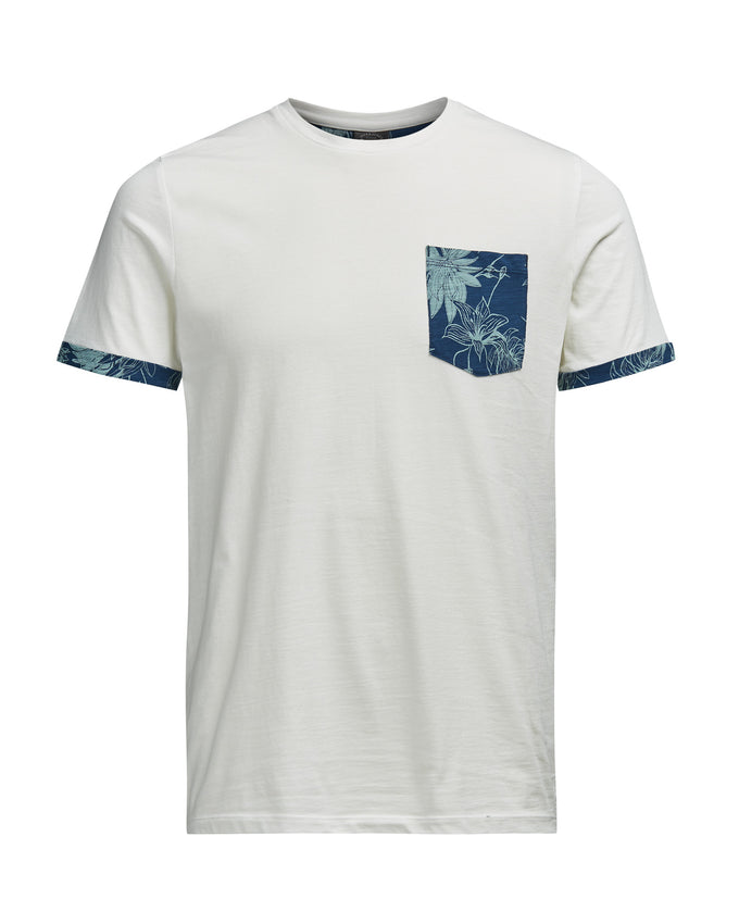 JJORDRAKES T-SHIRT CLOUD DANCER