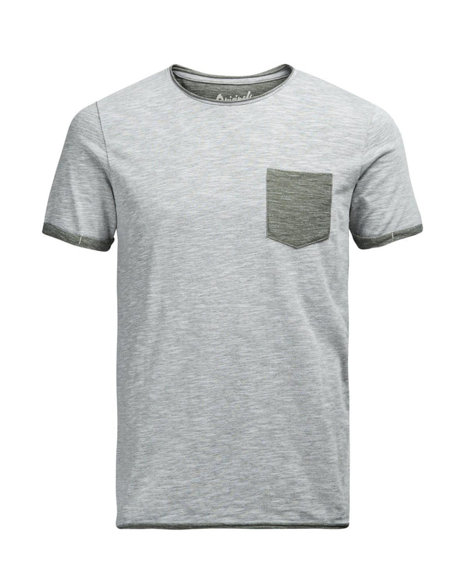 JJORLOWDOWN T-SHIRT COOL GREY