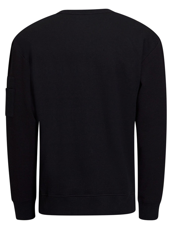 DETAILED SWEATSHIRT BLACK