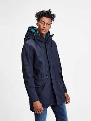 WARM PARKA WITH TEDDY LINING