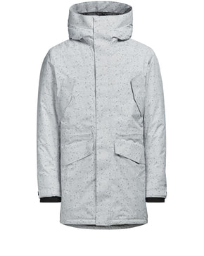 PATTERNED WATERPOOF THINSULATE WINTER PARKA
