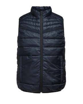 WINDPROOF COATED QUILTED VEST