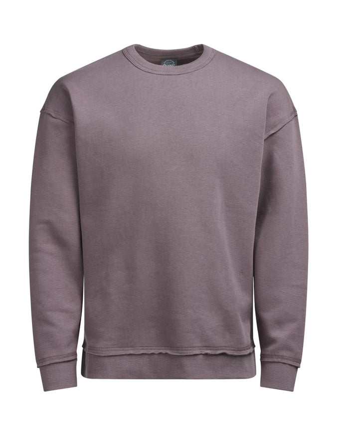 BOXY FIT CREWNECK ROSE TAUPE