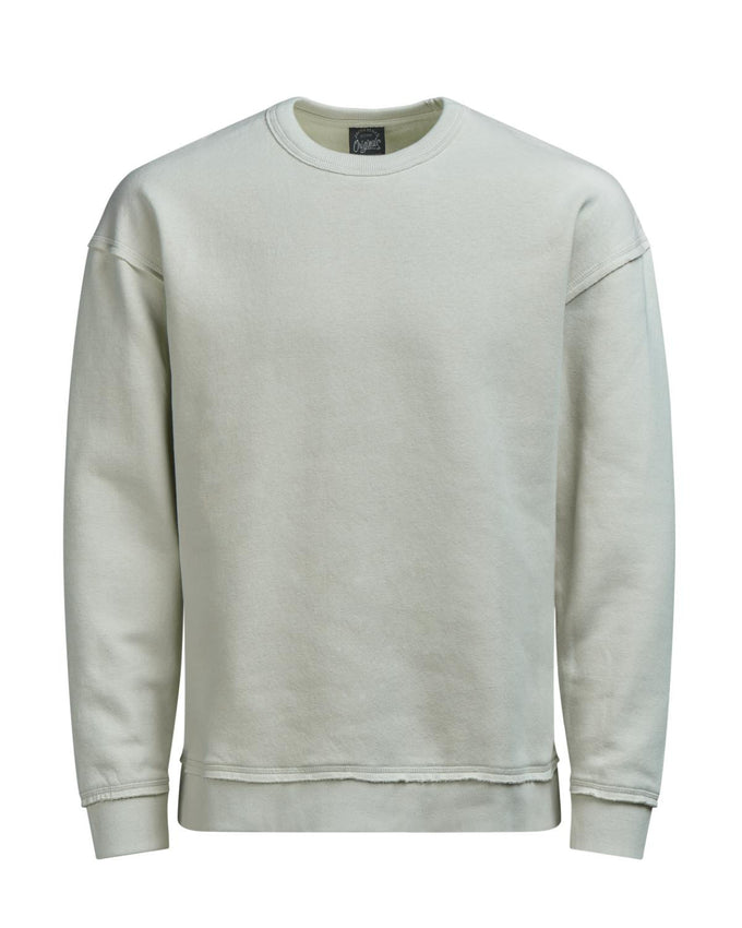 BOXY FIT CREWNECK SILVER BIRCH