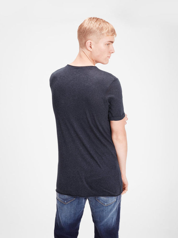 JJVCFRANCO T-SHIRT MOOD INDIGO