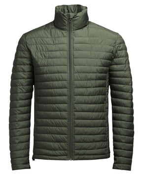 HIGH-NECK LIGHTWEIGHT QUILTED JACKET