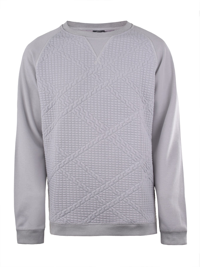 EXTRA SOFT TEXTURED SWEATSHIRT GRIFFIN