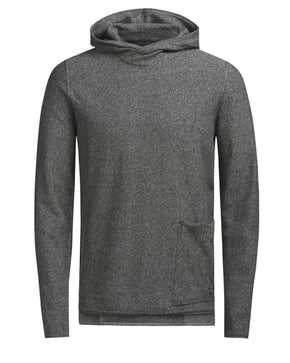 KNIT HOODIE WITH POCKET