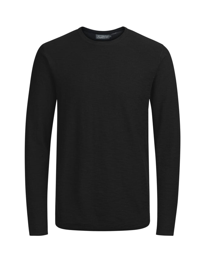 CLASSIC LIGHT KNIT PULLOVER BLACK