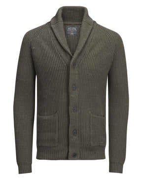 SHAWL COLLAR VINTAGE CARDIGAN