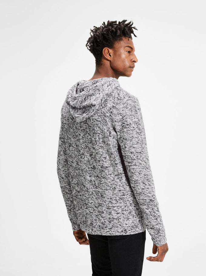 Jack /& Jones Mens Jcopace Knit Hood Camp Hoodie