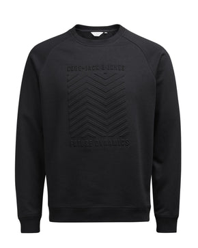 SWEATSHIRT WITH EMBOSSED FRONT
