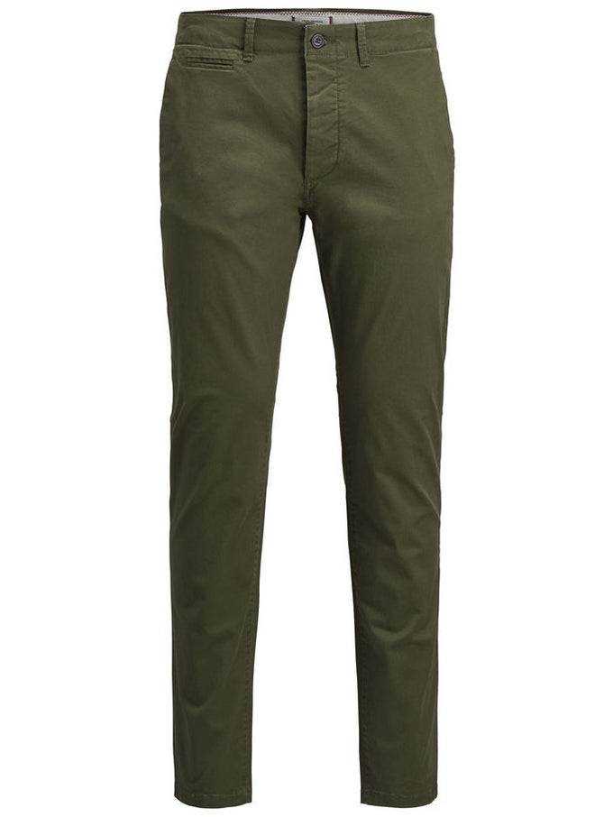 CLASSIC OLIVE CHINO PANTS OLIVE NIGHT