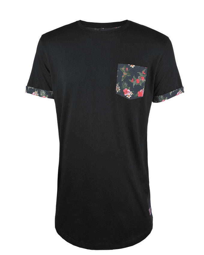 JJORPOCKETS T-SHIRT BLACK