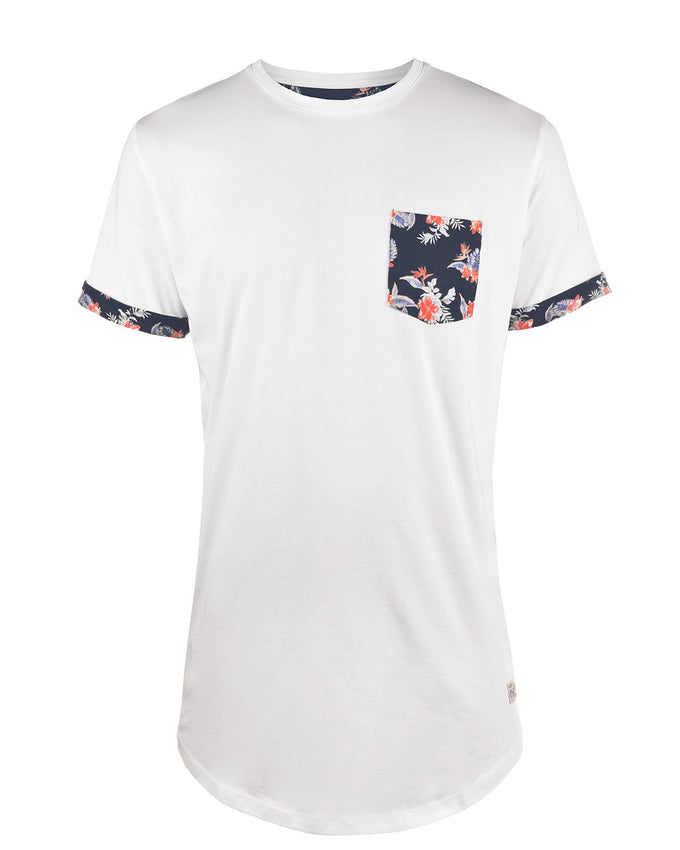 JJORPOCKETS T-SHIRT CLOUD DANCER
