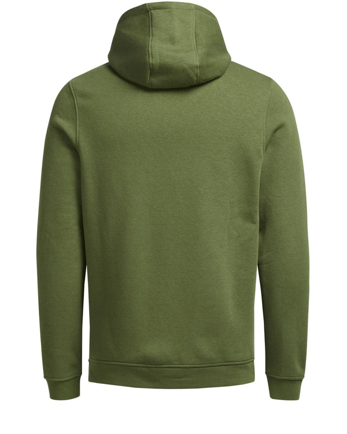HOODIE WITH EMBROIDERED BADGES CAPULET OLIVE