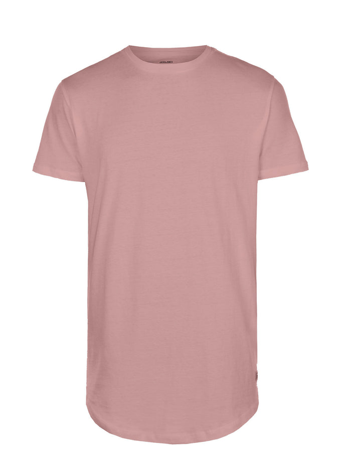 LONG CURVED T-SHIRT DEAUVILLE MAUVE