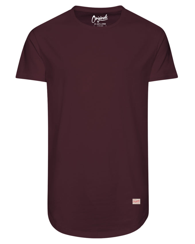 LONG CURVED T-SHIRT PORT ROYALE
