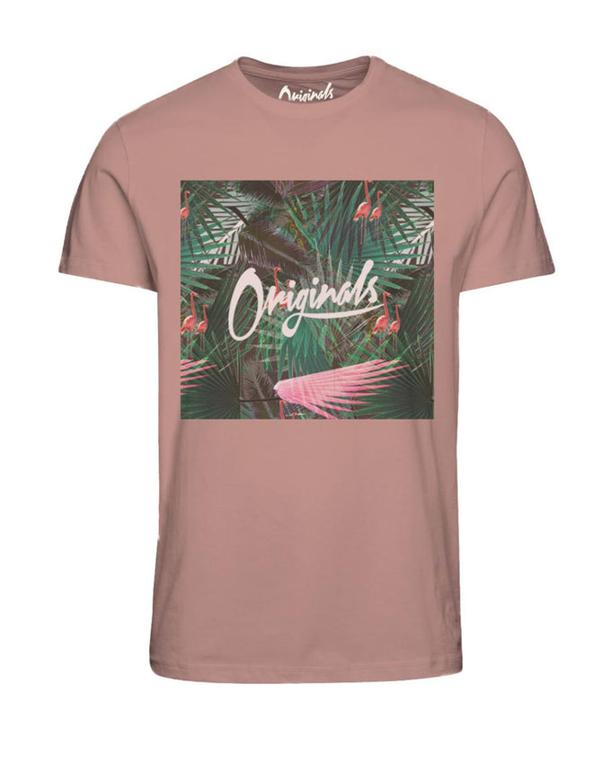 EXOTIC ORIGINALS T-SHIRT PEACH BEIGE