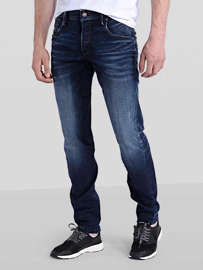 store sold worldwide best MIKE RON 493 COMFORT FIT JEANS | BLUE