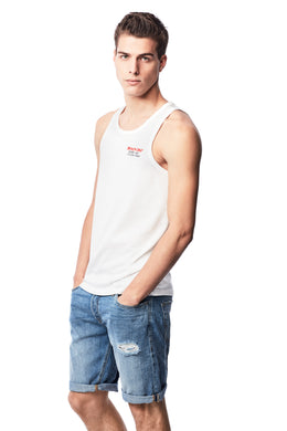 BEACH DAY EVERY DAY EMBROIDERED TANK TOP