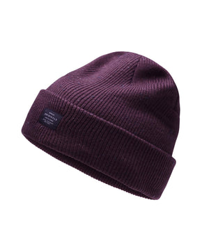 FLECKED PATTERN ROLL UP BEANIE