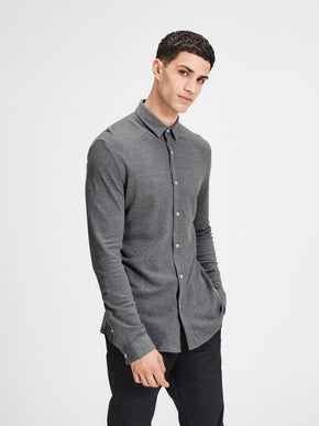 JACQUARD PATTERN CORE SHIRT