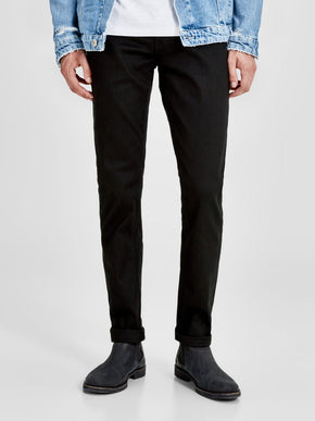 SLIM FIT TIM 013 BLACK JEANS