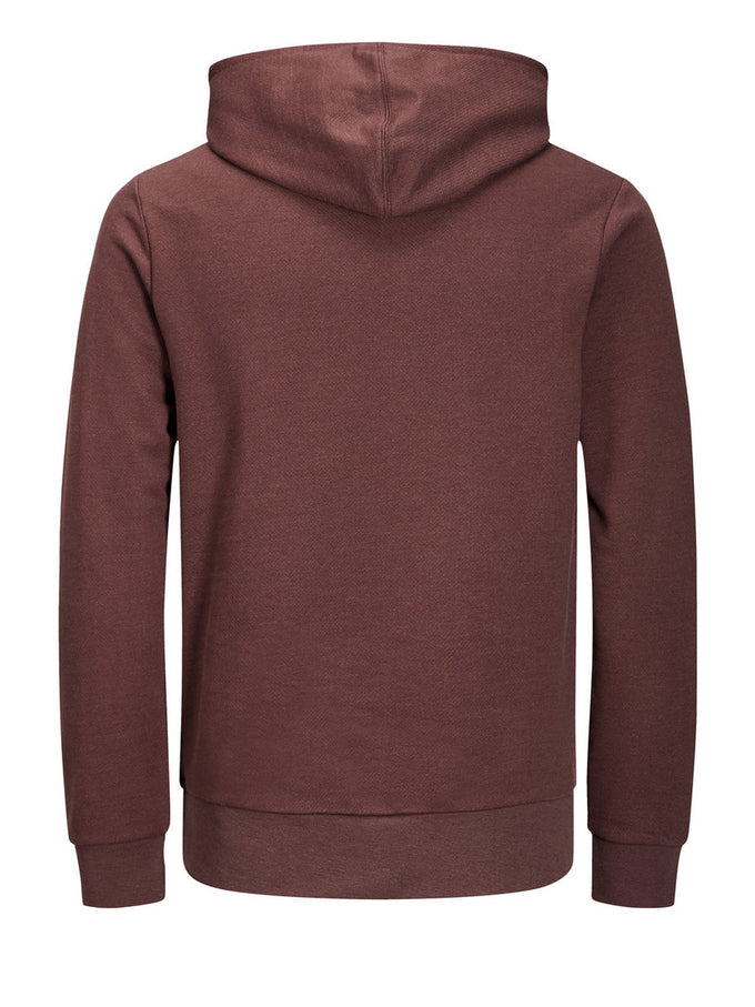 CORE HOODIE WITH DOUBLE HOOD FUDGE