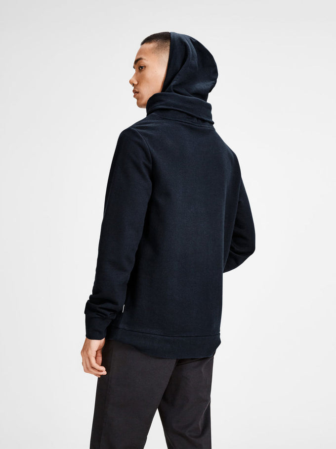 CORE HOODIE WITH DOUBLE HOOD SKY CAPTAIN